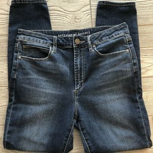 Articles Of Society Heather High Rise Blue Size 29